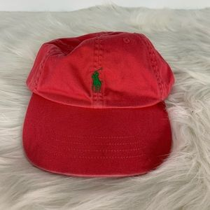 Polo by Ralph Lauren Pink StrapBack Hat
